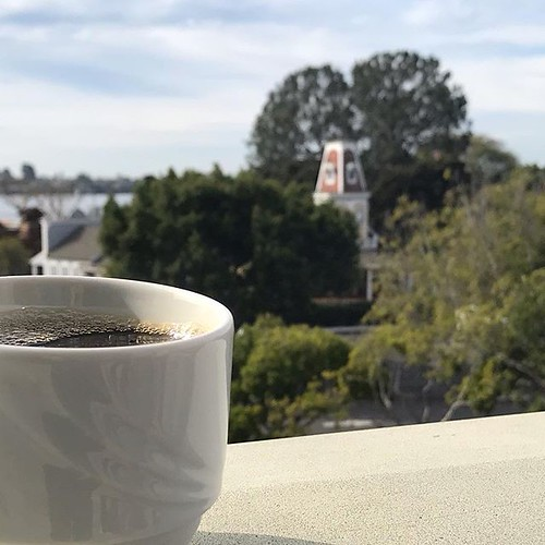 Coffee on a patio; is that how we start the day now? Today at least. | by jsf.online