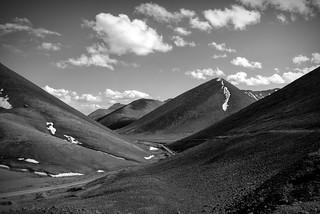 View from Lakenia pass, 5190 meters, Tibet | by DarkB4Dawn