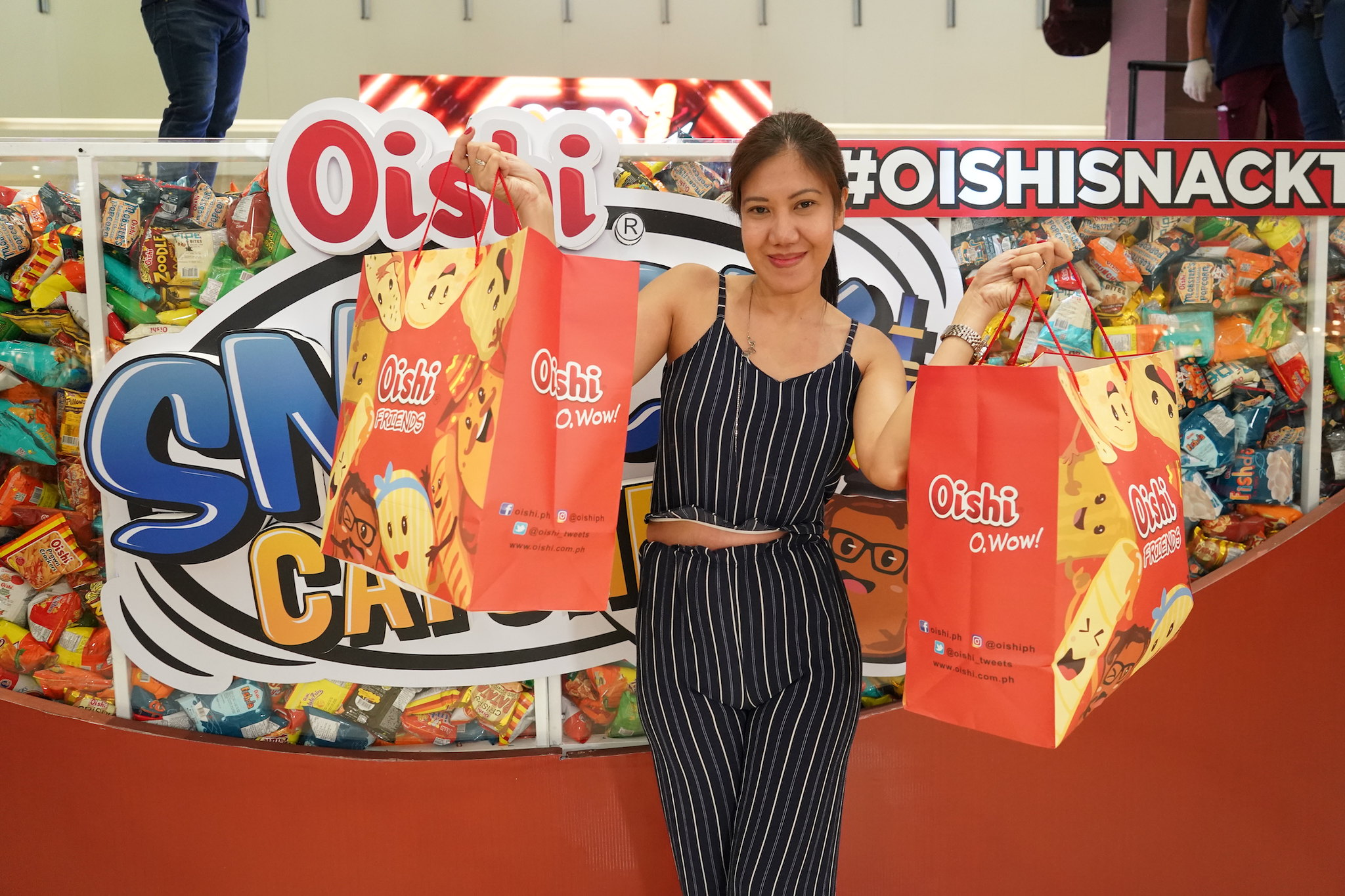 OishiSnacktacular 2019 in SM City Clark, Pampanga