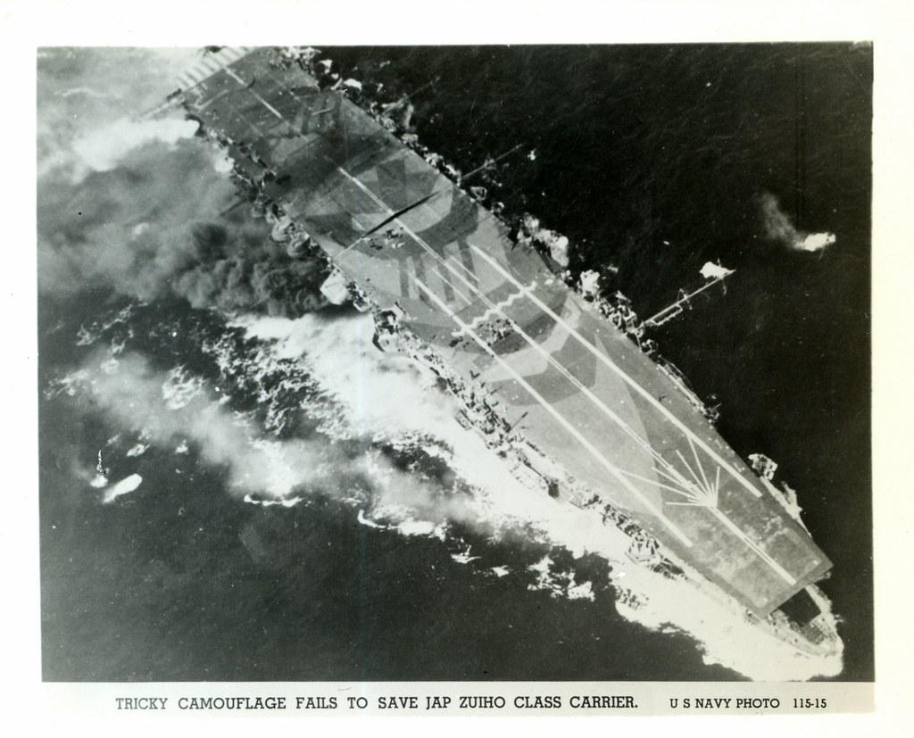 WWII, Zuiho Class Aircraft Carrier, Japanese | Zuihō during … | Flickr