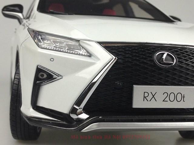 1 18 mo hinh tinh Paudi Dealer Lexus RX200T qua tang sang trong y nghia dan ong ha noi viet nam diecast 118 (6)