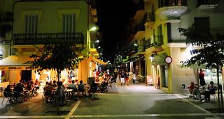Outdoors eating, Spain