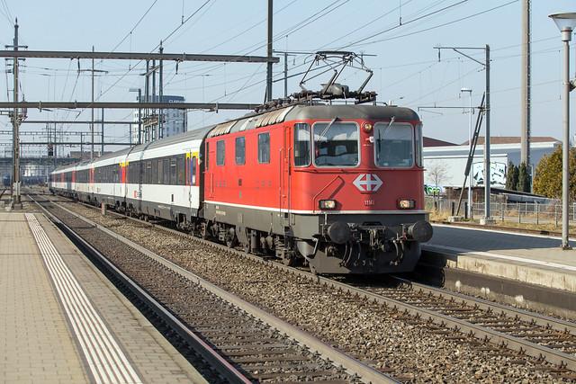 SBB Re 4/4 420 141 Pratteln