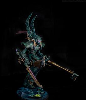 Drukhari Phantom Titan | by whitemetalgames.com