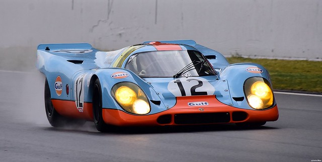 PORSCHE  917 / 1969 / Claudio RODDARO / MCO