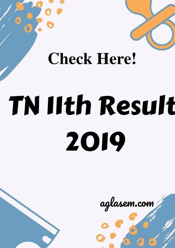 Tamil Nadu 11th Result 2019