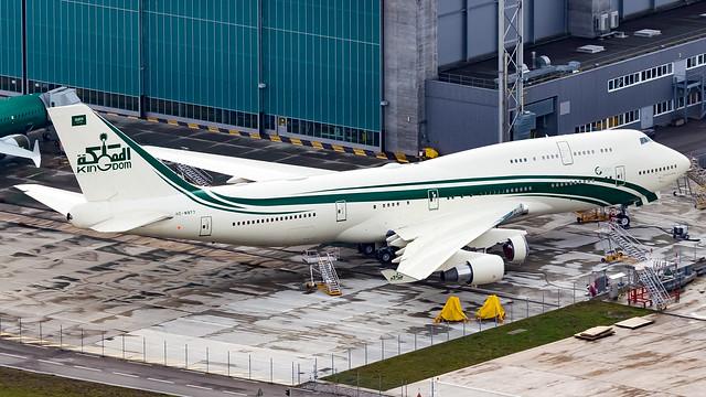 Boeing 747-4J6 HZ-WBT7 Kingdom Aircraft II LLC