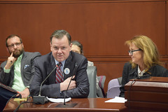 Rep. John Frey and Di Masters testify in support of HB7165 - An Act Concerning Medicaid Coverage for Breast Milk that would provide Medicaid reimbursement for pasteurized donor breast milk.