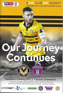 Newport County V Carlisle United | by cumbriangroundhopper