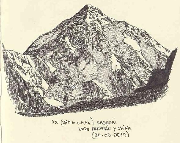 K2. Chogori (8.611 m.s.n.m.)