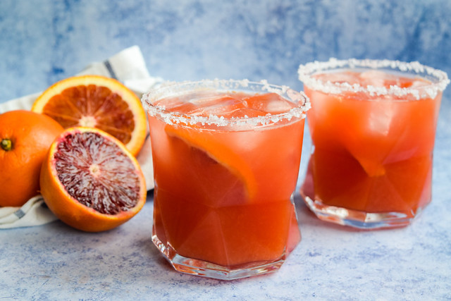 How To Make A Blood Orange Margarita