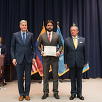 Vi, 03/29/2019 - 14:34 - On Friday, March 29, 2019, the William J. Perry Center for Hemispheric Defense Studies hosted a graduation ceremony for two courses: 'Strategic Implications of Human Rights and Rule of Law' and 'Combating Transnational Threat Networks.' Students from all over the Americas attended the courses from March 18-29, 2019. The graduation ceremony and reception took place in Lincoln Hall at the National Defense University's North Campus at Fort McNair in Washington, DC.