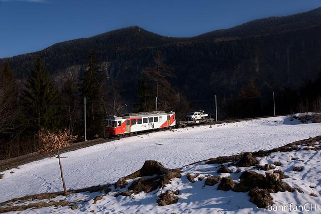 Spontaner Güterverkehr - TMR BDeh 4/4 501