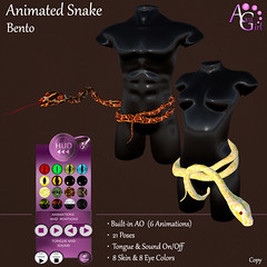 AvaGirl - Animated Snake