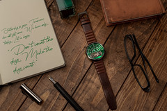 The The Halograph II Watch Automatic Limited Edition (green)