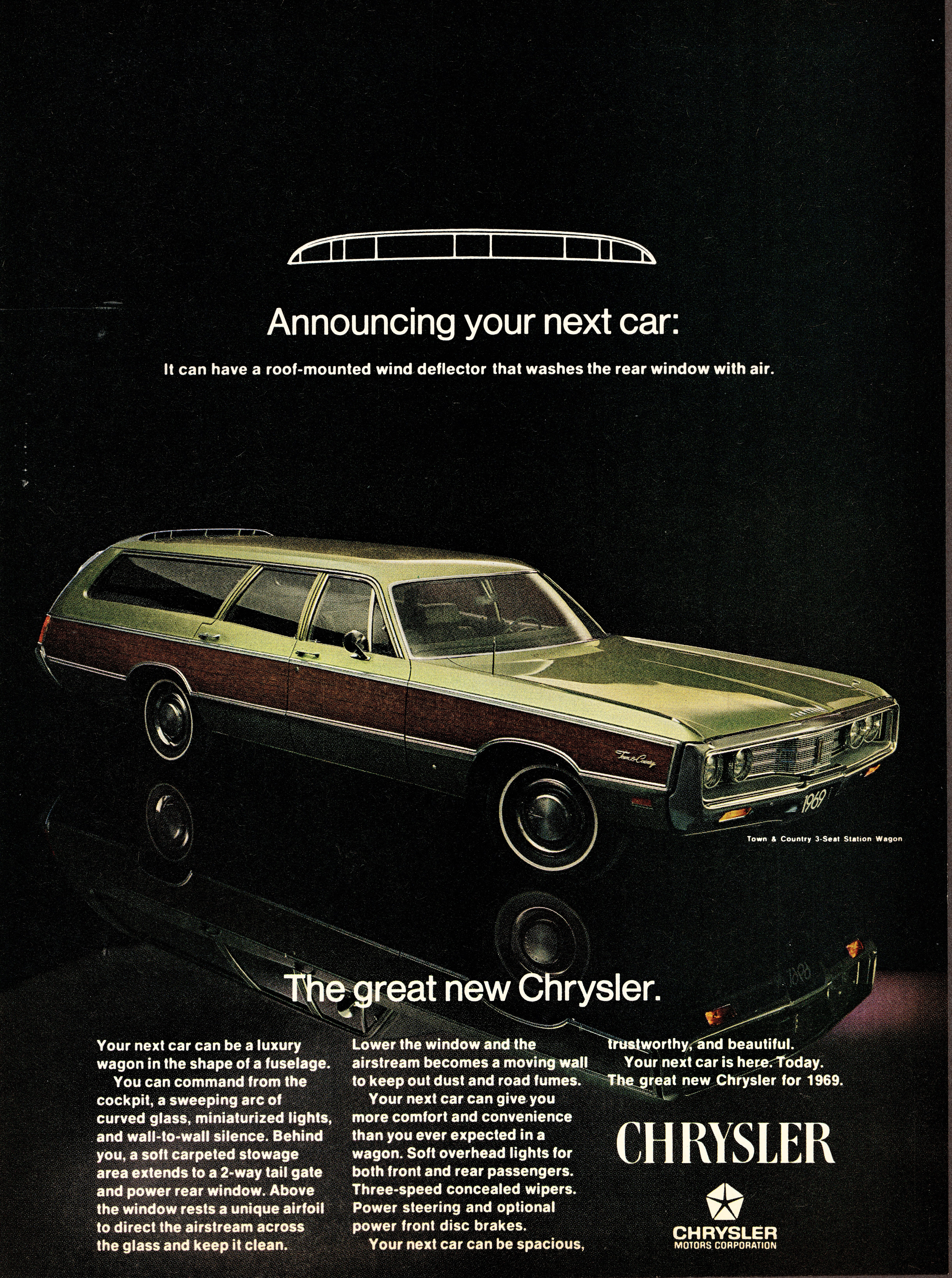1969 Chrysler Town and Country Station Wagon