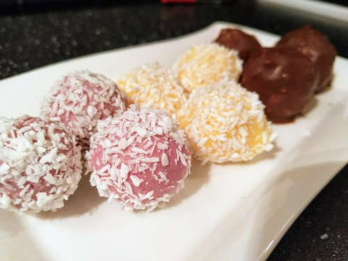 White chocolate truffles | by appel