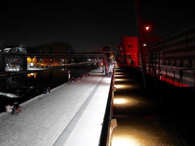 La Villette by night