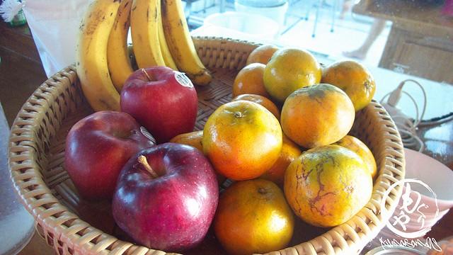 自由にいただけるフルーツ