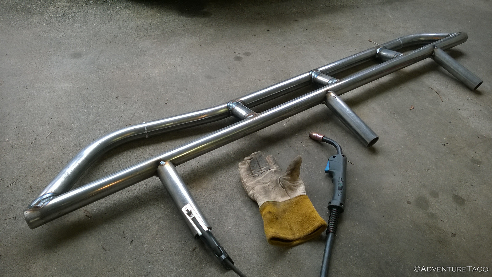 Fabricating Sliders for the 4Runner