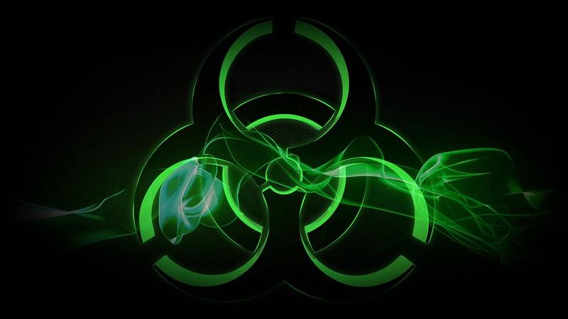 Обои радиация, знак, символ, фон картинки на рабочий стол, фото скачать бесплатно