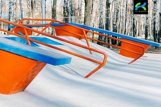 Бетонный скейт парк Сходня-9