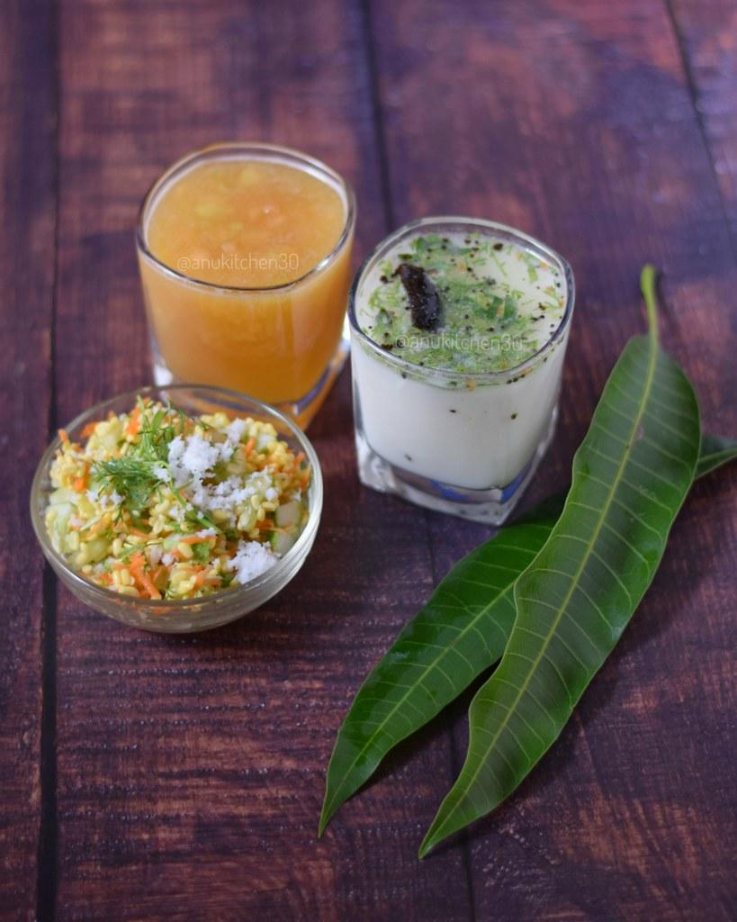 ರಾಮನವಮಿ ವಿಶೇಷ | ಪಾನಕ, ನೀರು ಮಜ್ಜಿಗೆ, ಕೋಸಂಬರಿ | Panaka, Buttermilk and Kosambari
