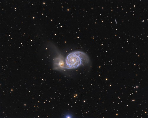M51 Galaxy | by Kenza87