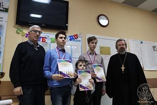 24.02.2019 | VI открытый турнир по шахматам среди учащихся воскресных школ