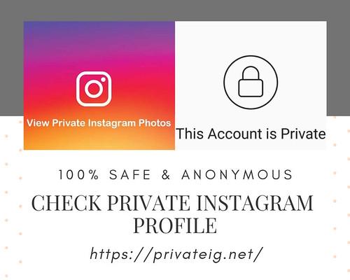 Check Private Instagram Profile - PrivateIG