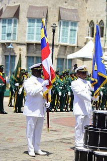 Wreath laying ceremony at the Cenotaph (6) | by barbadosgovernmentinformationservice