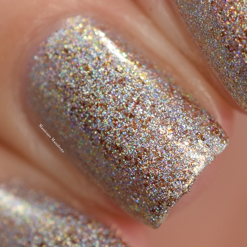 Girly Bits April Fool's Gold swatch