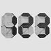 Origami Seven-Segment Display