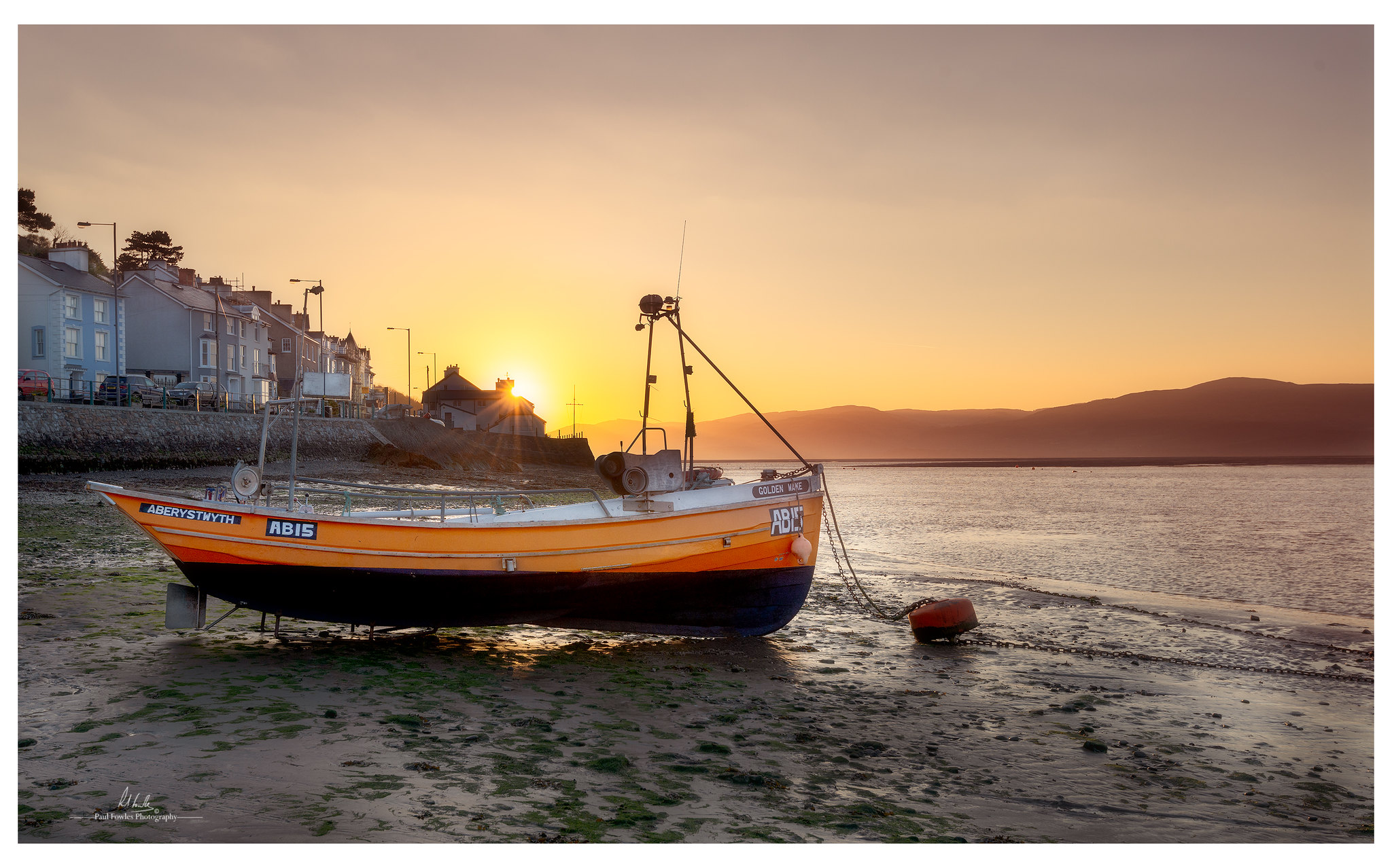 Aberdovey - Aberdyfi - Paul Fowles Photography - Pauls Boat Church Bay
