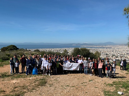ACG Spring 2019 Community Service Day: Reforestation of Mt. Hymettus!