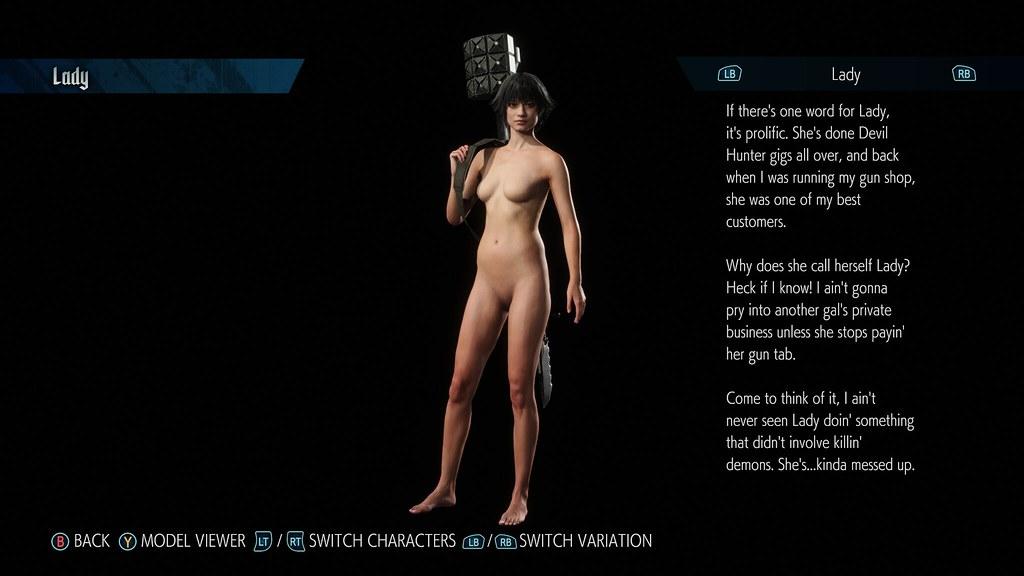 Lady nude