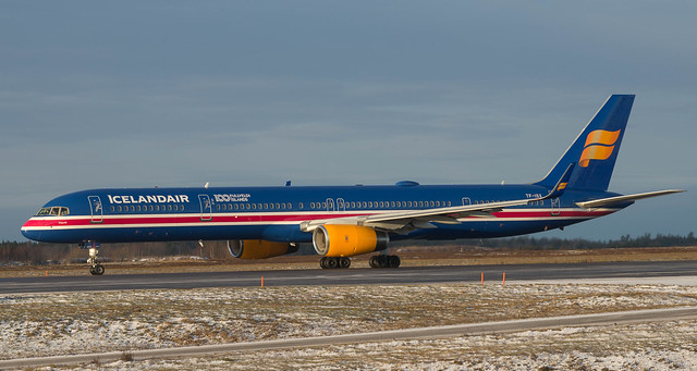 TF-ISX Icelandair 757-3E7 named