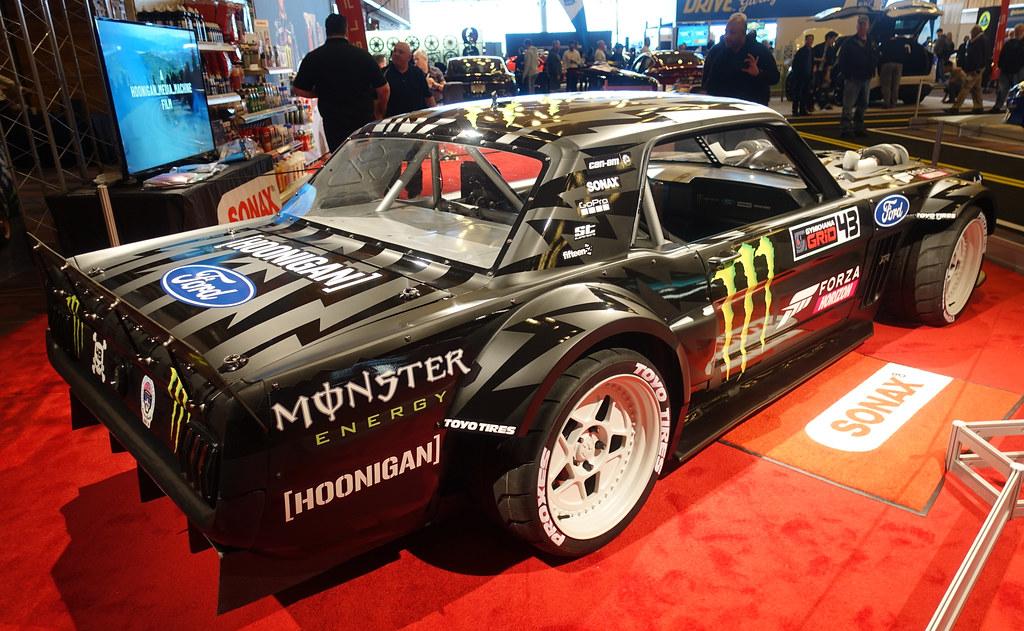 Hoonigan Mustang Engine