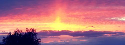 sunrise surpriseaz arizona clouds colors