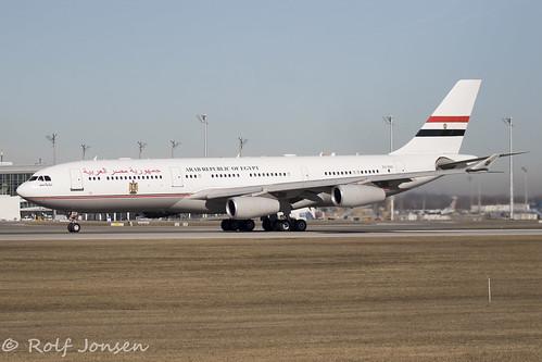 SU-GGG Airbus A340-200 Arab Republic of Egypt Munich airport EDDM 17.02-18   by rjonsen