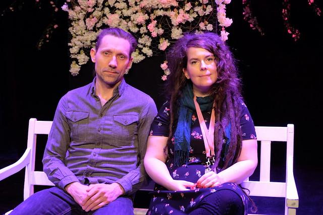 Pelle Mählby och Frida Nyström
