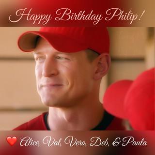 Happy Birthday Philip Winchester! | by walelia