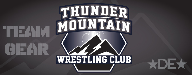 Thunder Mountain Wrestling Club Gear