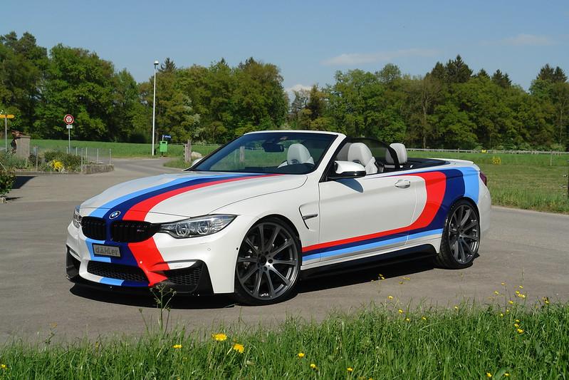 BMW M4 - M Colors - Convertible F83