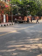On the street of Dhaka