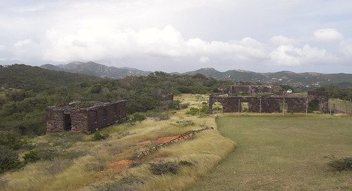 Ruins of Officers Quarters. The Blockhouse, Shirley Heights,  Antigua, Antigua and Barbuda | by woodytyke