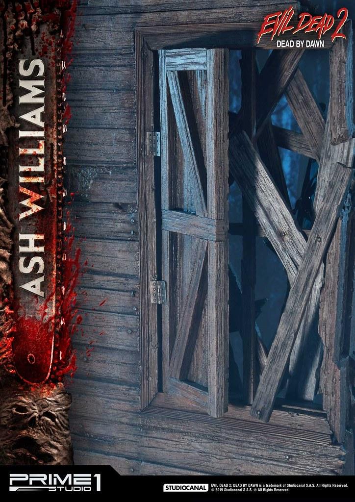 Prime 1 Studio《鬼玩人》艾許·威廉斯 アッシュ・ウイリアムズ MMED2-01 1/3 比例全身場景雕像作品 普通版/EX版