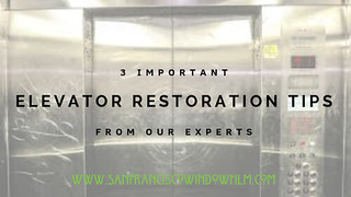 Elevator Restoration Tips from the Experts at San Francisco Window Film | by San Francisco Window Film