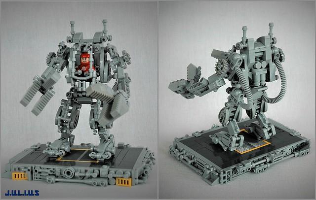 LEGO Powerloader Mech
