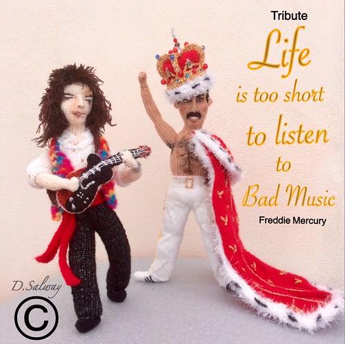 #FreddyMercury #BrianMay #Queen #singer #guitarist #band #film | by Denise Salway